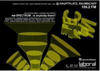 Spectrum. Is anybody there?