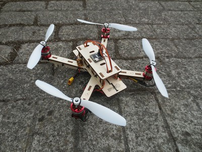 Workshop: building multicopters using digital fabrication and experimental electronics. 2nd Edition