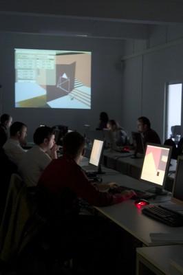Space workshop: creating videogames with Blender