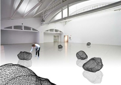 """""""Menhir"""" moves the mine to the exhibition"""