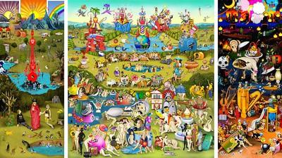 The Garden of Emoji Delights, 2014