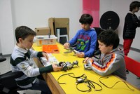 LABoral will hold a new children's robotic camp during the Easter period