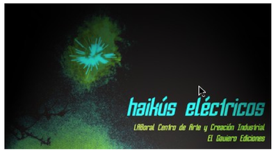 Poetry contest based on the exhibition 'Noches eléctricas'