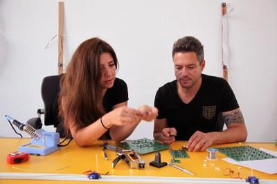 LABoral opens Feather Tales II, an installation by Ricardo O'Nascimento and Ebru Kurbak, on Thursday 25