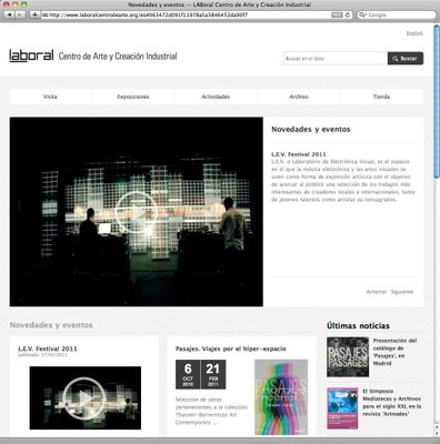 LABoral launches a new online strategy