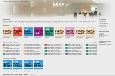 LABoral has become the first cultural institution in Spain with its own channel on iTunes U