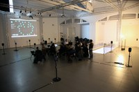 The artist José Manuel Berenguer conducts a multichannel audio workshop this weekend at LABoral