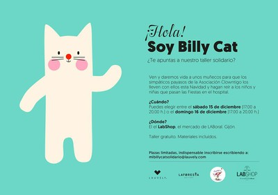 Taller Mi Billy Cat solidario