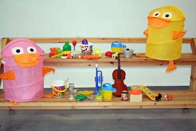 Centro Augusta-Alzheimer - Taller orquesta de objetos
