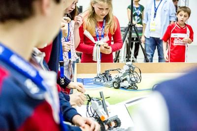 Campamento de robótica primavera 2016