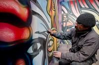 """Taller de arte urbano con Alejandro """"Mono"""" González"""