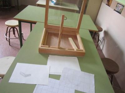 Prototipos de perspectiva. Un proyecto del IES Fernández Vallín