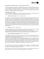 Programa escolar 2012-13