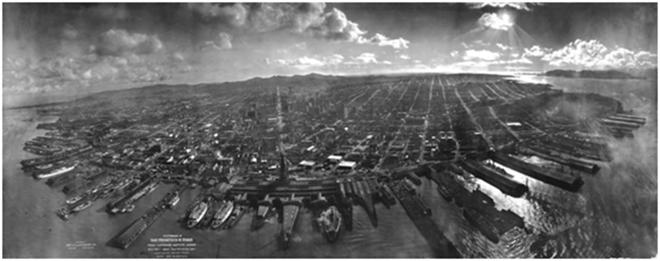 San Francisco después del terremoto (1906), G. R. Lawrence.