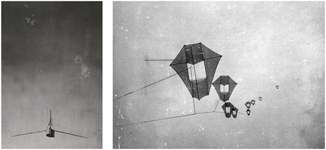 Sistema fotográfico aéreo de  G.R.Lawrence