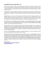 mapaSONORU. Valoración y actividad 2013