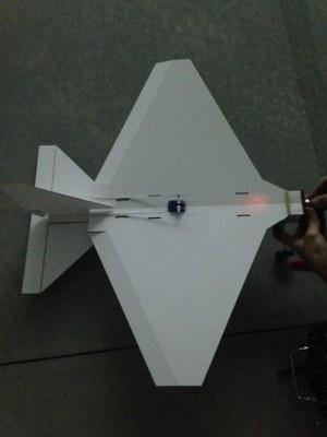 Modelo para iniciación en aeromodelismo