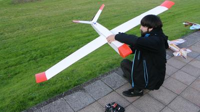 Preparando el vuelo del UAV