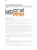 Bases 2ª Convocatoria LABoral Impulsa