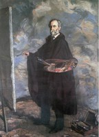 Retrato del pintor Fermín Arango