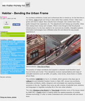 'Habitar'. Bending the Urban Frame