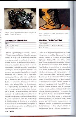 "Gilberto Esparza. ""Plantas Nómadas"""
