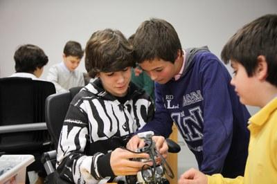 La robótica y programación en los campamentos de LABoral este verano