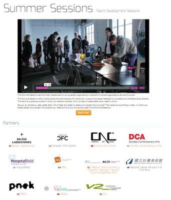 LABoral se suma a la red internacional de residencias artísticas Summer Session
