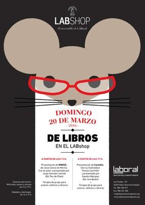 LABoral organiza el 'Domingo de Libros' en LABshop primavera