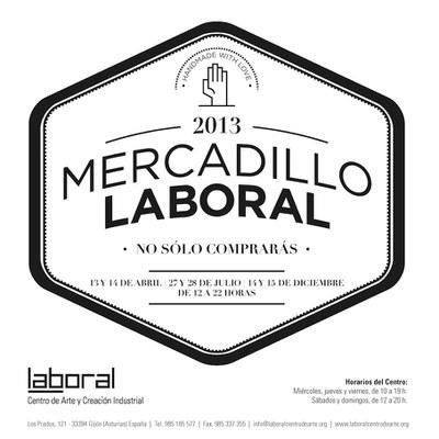 LABoral celebra una nueva edición de su mercadillo de diseño este fin de semana y estrena sello de calidad