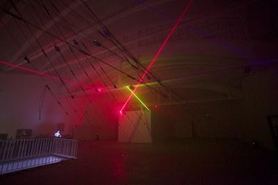 Chris Salter presenta este viernes 'n-Polytope', una gran instalación de luz y sonido producida durante su residencia en LABoral